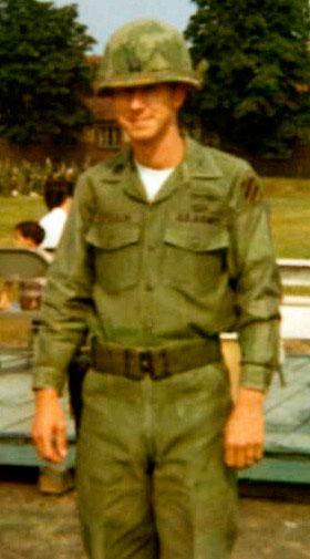 Capt. John T. Ferguson, II on Active Duty