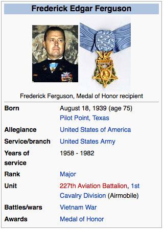 Frederick Ferguson MOH