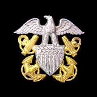 NavyCapBadgeEmbroidered