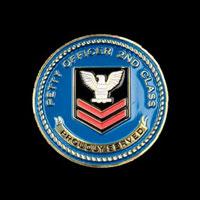 NavyPO2ChallangeCoin